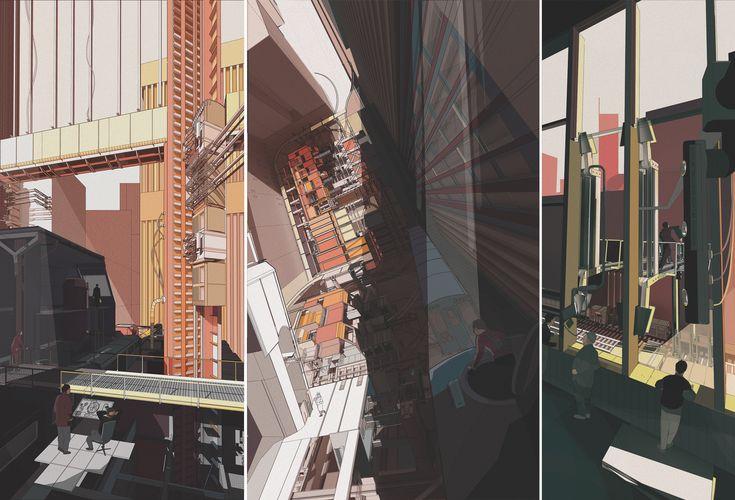"Doug Miller, ""Machining Chicago""  Unit Four Bartlett School of Architecture"