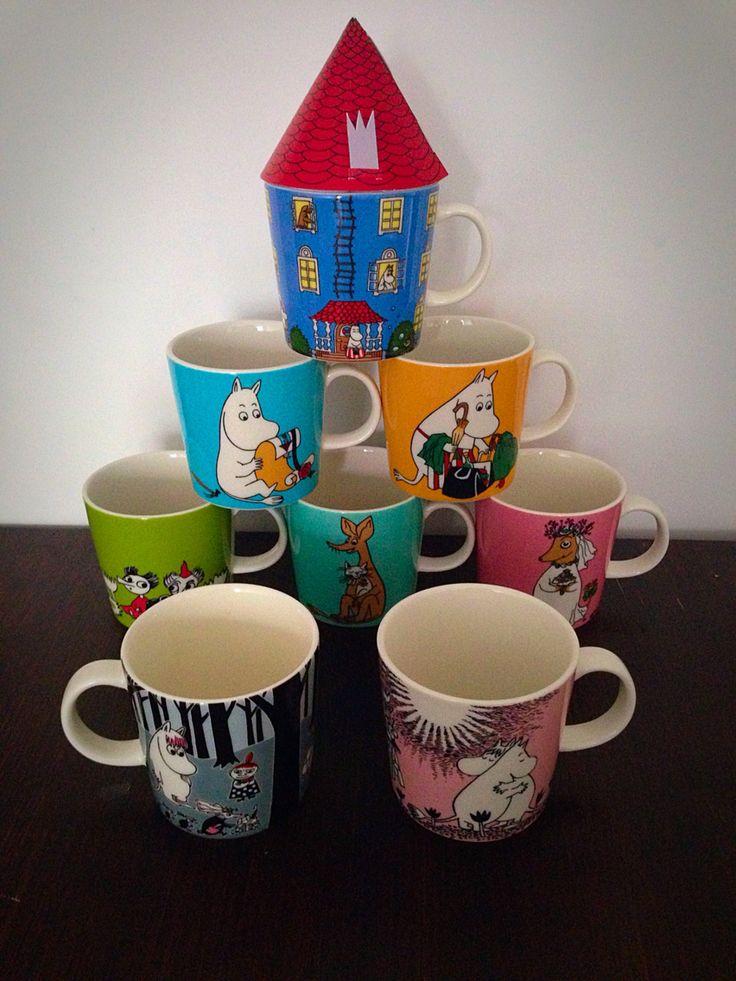 Muumimukit, Moomin mugs