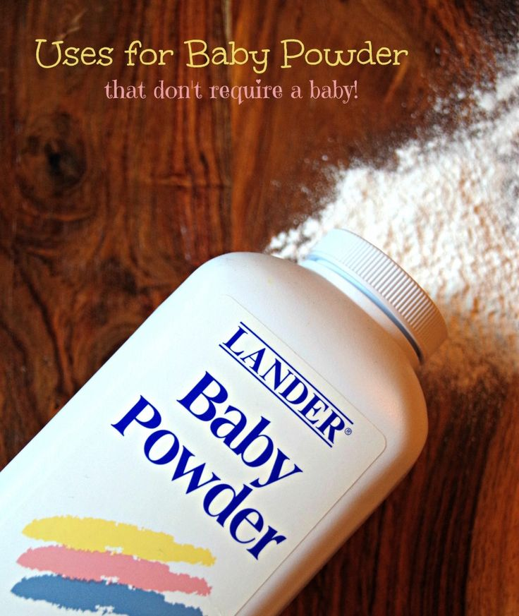 Uses for Baby Powder that dont require a baby!