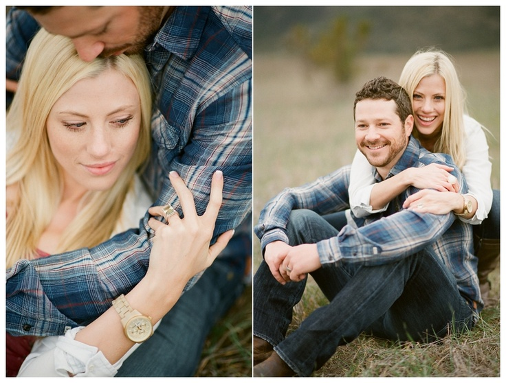 Sarah & Bryan : Husband & Wife and Mentor Session. This wouild be great engagement photo.