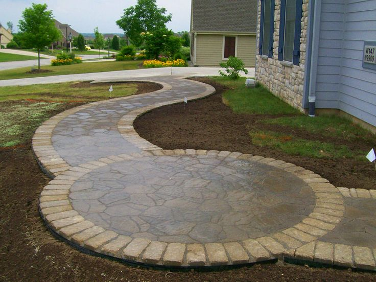 89 best images about interesting ideas on pinterest for Circular driveway layout