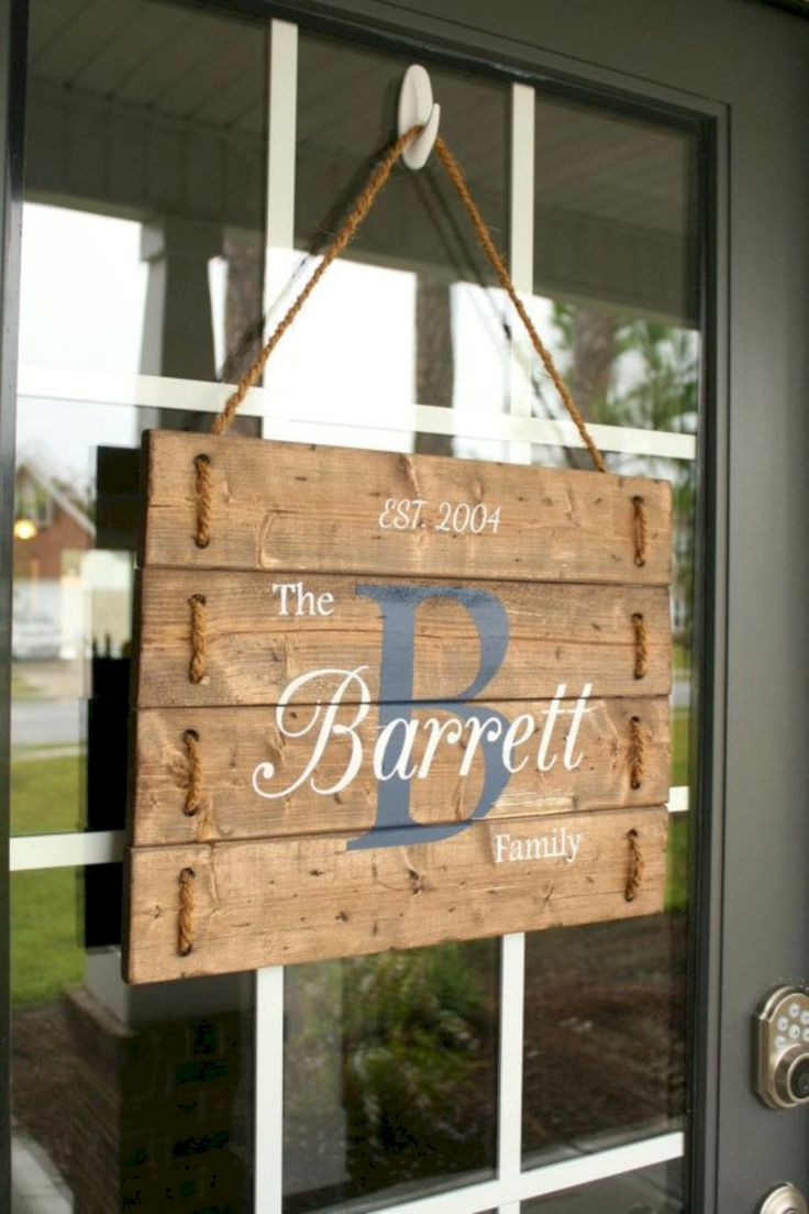 best 25 door name plates ideas on pinterest home name On door name ideas