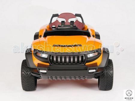 R-Toys Джип-внедорожник BROON Henes  — 107500р. ----------------  Электромобиль R-Toys Джип-внедорожник BROON Henes полноприводный со встроенным планшетом Android.  Особенности: Джип на аккумуляторе 24V c 2 мощными двигателями, независимой подвеской с газовыми амортизаторами, самоблокирующимся дифференциалом, электроусилителем руля, автоматической коробкой передач и многое другое…. Установленный в приборную панель планшет (который при желании можно снять) служит средством управления…