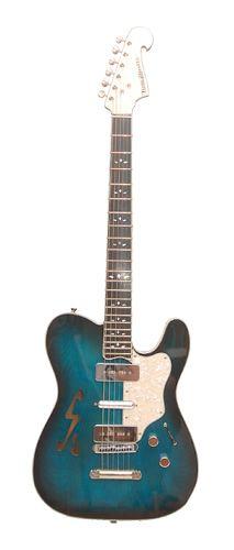ToneSmith Guitars 510 Black to Blue