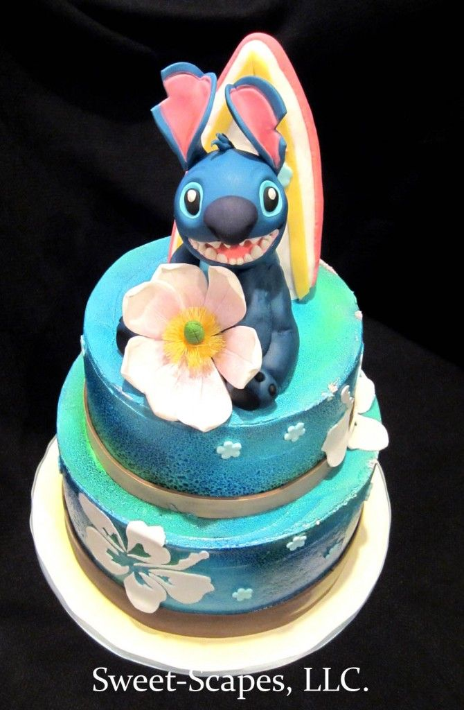 17 Best Cakes Lilo And Stitch Images On Pinterest Birthdays