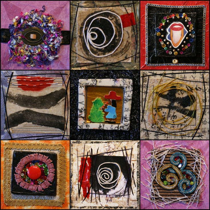 Perfect UNIQUE Mother's Day Gift! Michi Susan's Haiku Poem Collage paintings.  Each painting is priced at $85.00. Purchase at JRB ART at the ELMS in the Paseo District. http://www.jrbartgallery.com/artwork/view_by_artist.php?contactsID=43