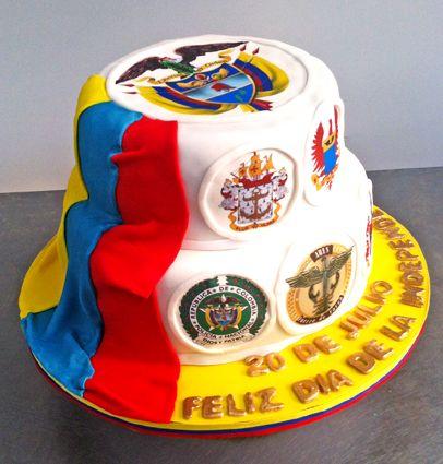 Torta Independencia de Colombia
