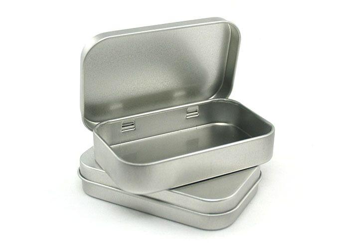 Aliexpress.com : Buy Hinge tin box Square tin silver muji tin gift box sealing plain tin box 80 x50 x15mm from Reliable Hinge tin box suppliers on Leon Wholesale
