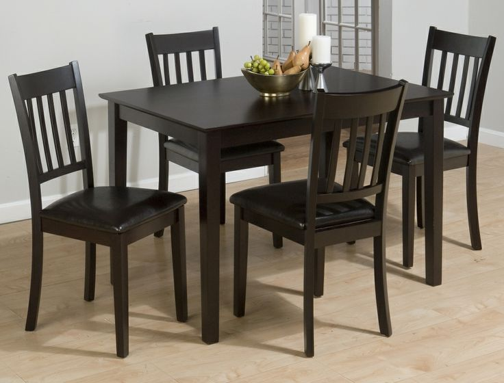 jofran 261 series 5 piece dining table set in burly brown and black 261 lowest price online on all jofran 261 series 5 piece dining table set in burly