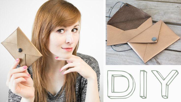 DIY Brief-Tasche + kostenloses Schnittmuster FREEBIE