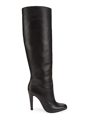 timeless design de73a d7790 Christian Louboutin Marmara 100 Tall Leather Boots | Boots ...
