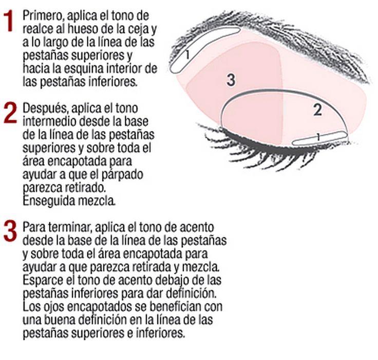 Maquillaje para ojos tipo asiatico