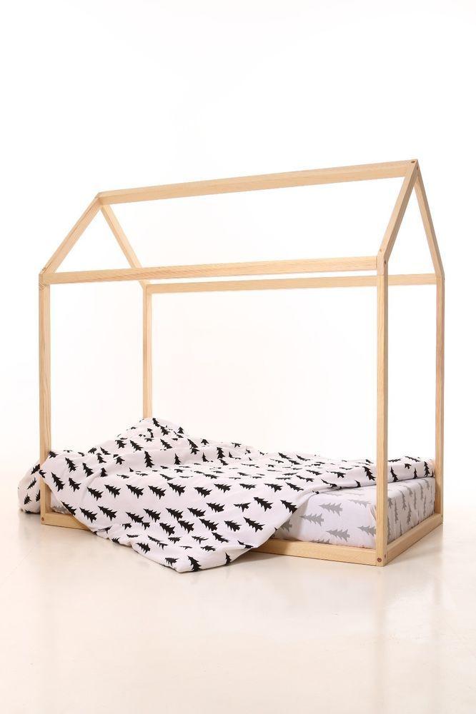 190x90cm house bed frame, toddler bed, bed home, nursery wood house, frame bed #meiddeco