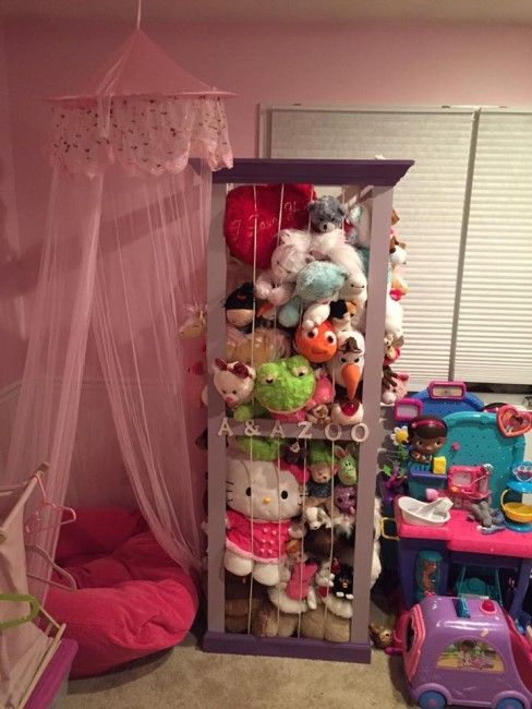 How To Store The Million Stuffed Animals That Live In Your