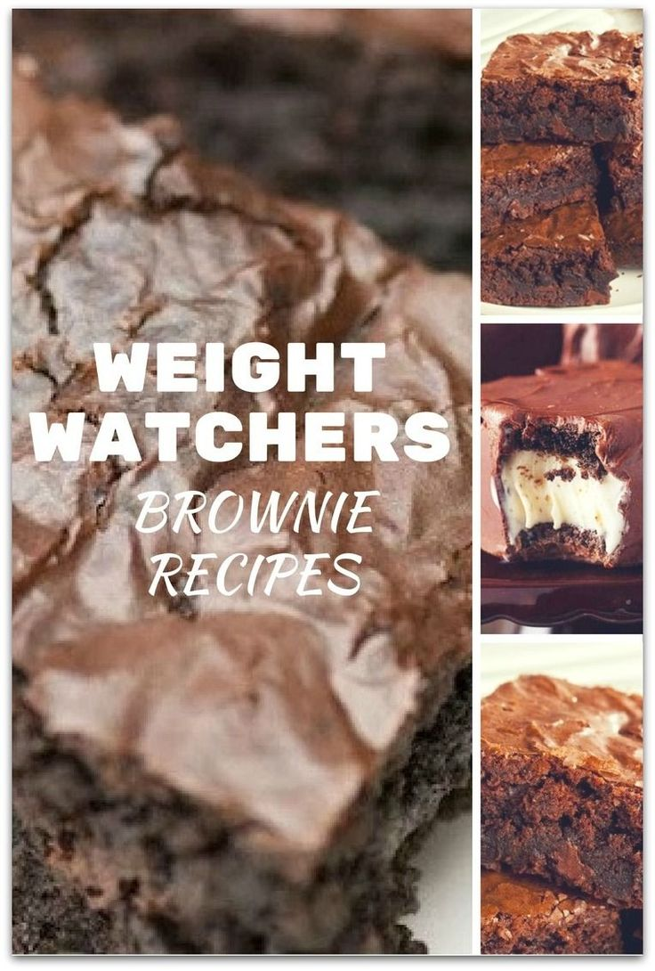 Who knew there were so many great Weight Watchers brownie recipes? Having dessert while staying on a diet can be so hard.