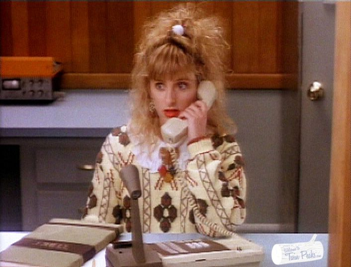Arguably the best Kickstarter reward in the history of crowdfunding: a personalized voicemail message recorded by Kimmy Robertson (Lucy Moran in Twin Peaks).