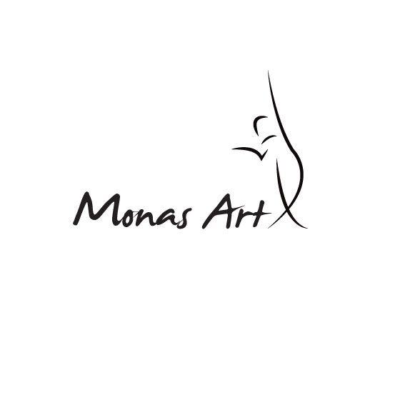 """Logotipo Tienda """"Monas Art"""""""