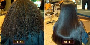 At Armando Piña is highly experienced with hair straightening treatment and provides each client with individualized treatment that suits their hair type. With Bio Ionic Japanese hair straightening, we will transform the look and feel of your hair from coarse and rough to smooth and soft.