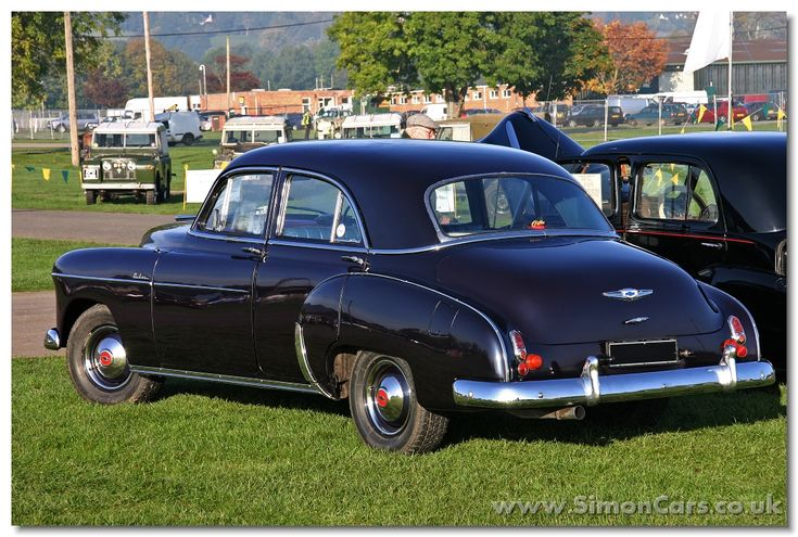 Chevrolet Styleline Deluxe 1949 4-door saloon rear