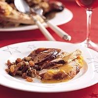 Recept - Kalkoen met sinaasappel en pistachevulling - Allerhande