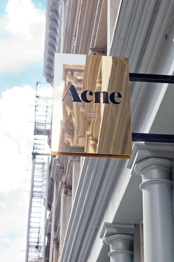 Acne Boutique NYC - Inside Acne NYC Flagship Boutique - Harper's BAZAAR