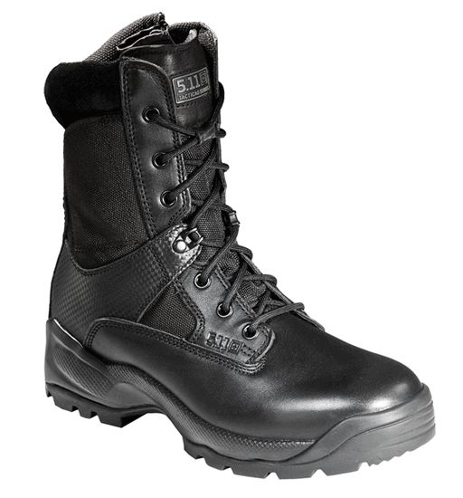 "511 Tactical A.T.A.C. 8"" Storm Sidezip Waterproof Boot + Free Shipping & 2 Pairs of Socks + FREE KNIFE"