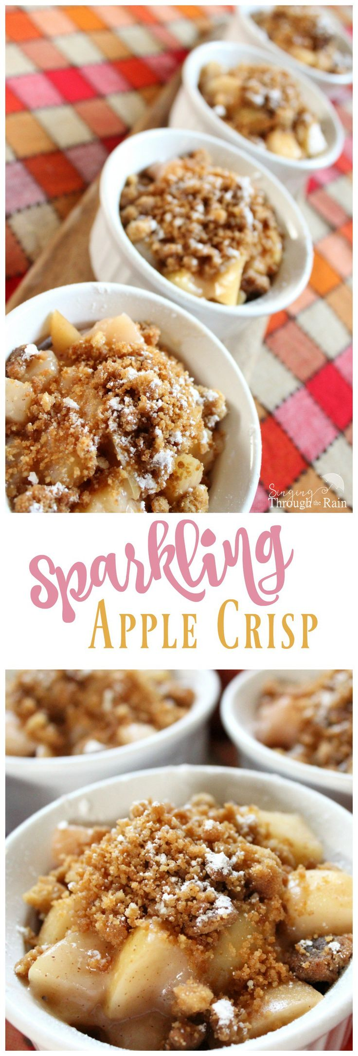 With Delicious Gala apples, warm buttery goodness, and a bit of cinnamon and brown sugar, you can almost taste the flavor from these pictures!