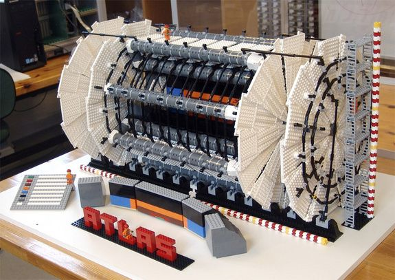 ATLAS in LEGOS, by Sascha Mehlhase.
