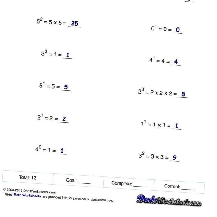 Glencoe Algebra 2 Math Worksheets In 2020 Math Worksheets Exponent Worksheets Algebra Worksheets