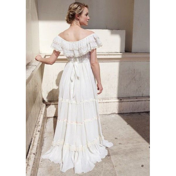 Gunne Sax gypsy style vintage wedding dress