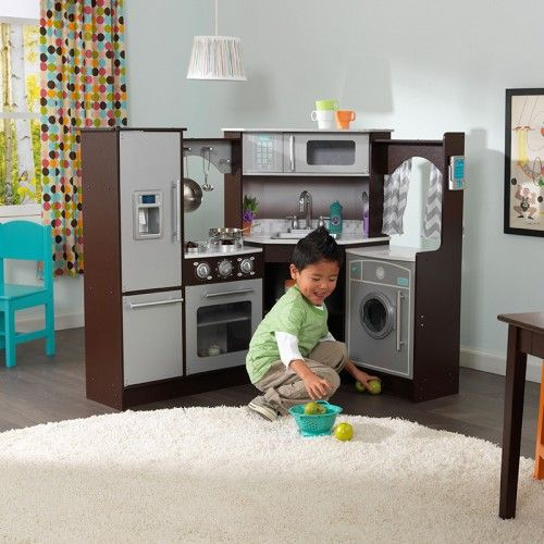 Ultimate Corner Play Kitchen With Lights And Sounds