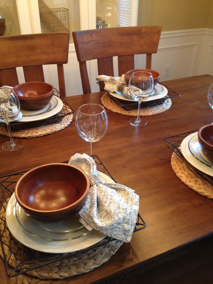 Place Setting | Dining Room | Pinterest | More Place Setting And Room Ideas