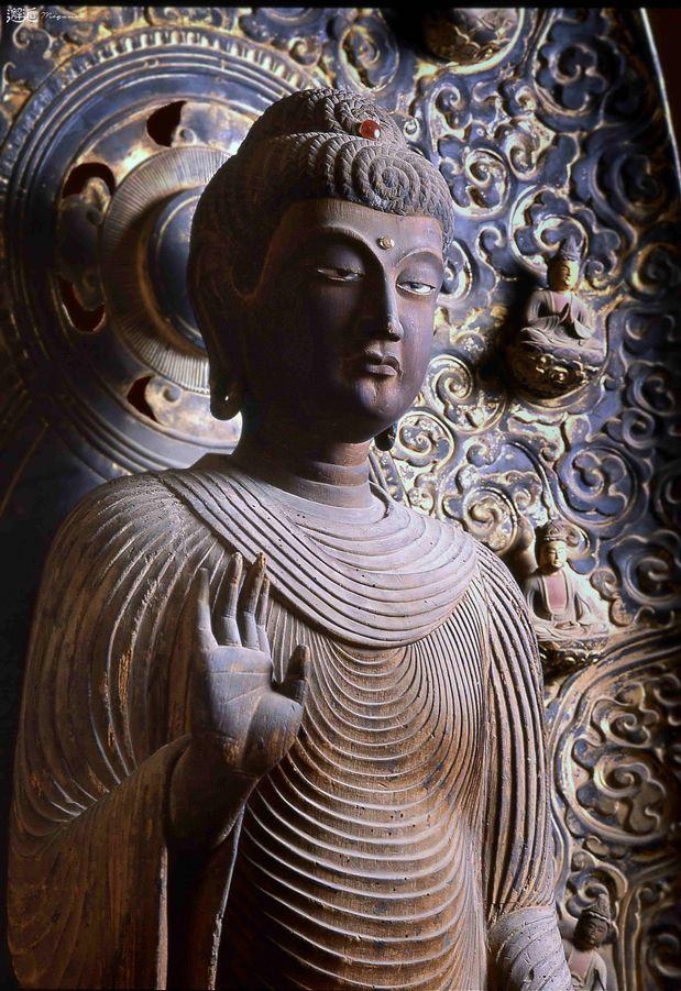 Japanese Important Cultural Property, Statue of Shaka Nyorai 木造釈迦如来立像(茨城県大洋村 福泉寺)
