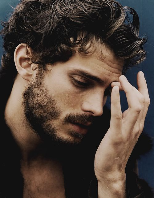 Jamie Dornan... There's just something about scruffy, dark featured men...Especially when they have an Irish Accent.