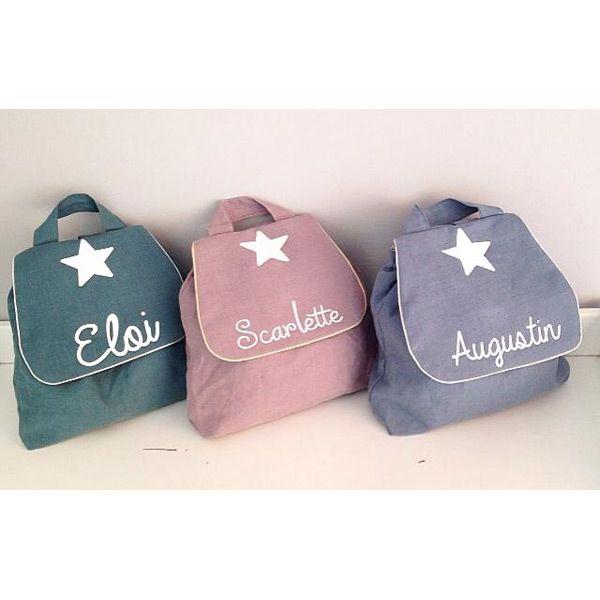 Un très joli sac à dos personnalisable  dans lequel on peut transporter un goûter, des affaires de rechange, indispensable pour les petits déplacements et il est idéal pour la crèche ou la maternelle .