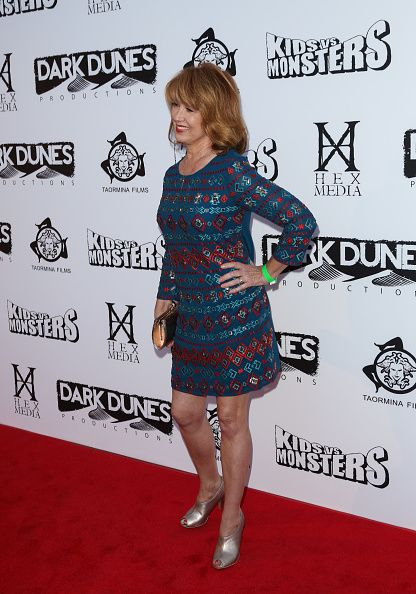 Actress Lee Purcell attends the premiere of 'Kids Vs Monsters' at The Egyptian Theatre on September 28 2015 in Los Angeles California