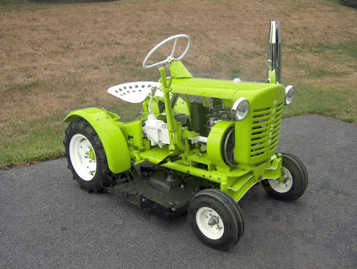 Vintage Lawn And Garden Tractors : Best images about panzer garden tractors on pinterest