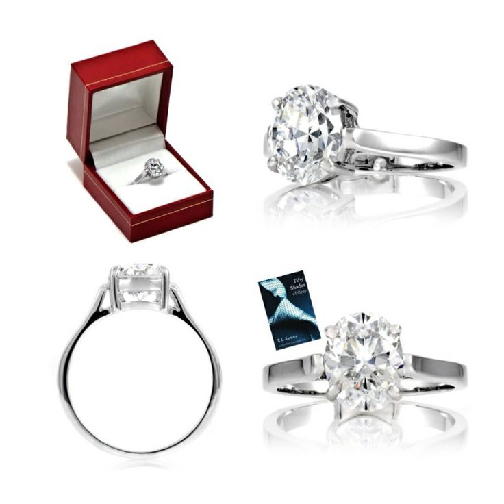 Anastasia Steele's Signity Engagement Ring Inspired By