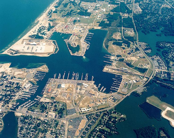 Naval Amphibious Base Little Creek in Norfolk, VA
