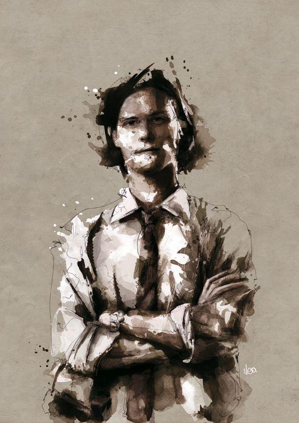 Spencer Reid . Criminal Minds by neo-innov.deviantart.com on @deviantART