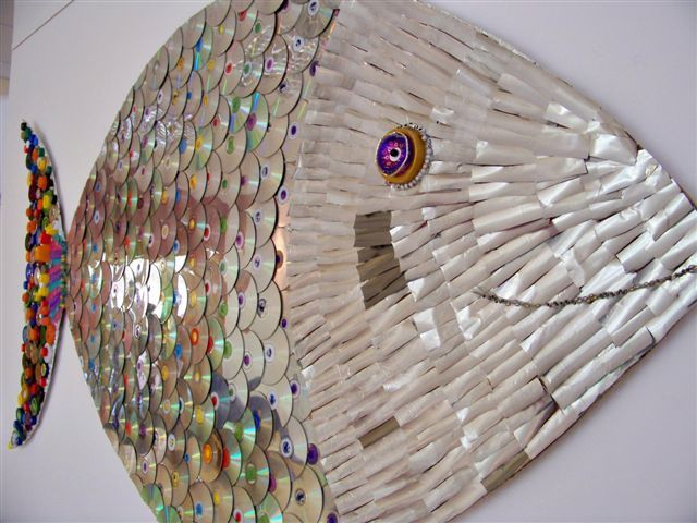 A fish called 'Wanda'- Schools Recycled art project by Wicklow Arts Festival, via Flickr