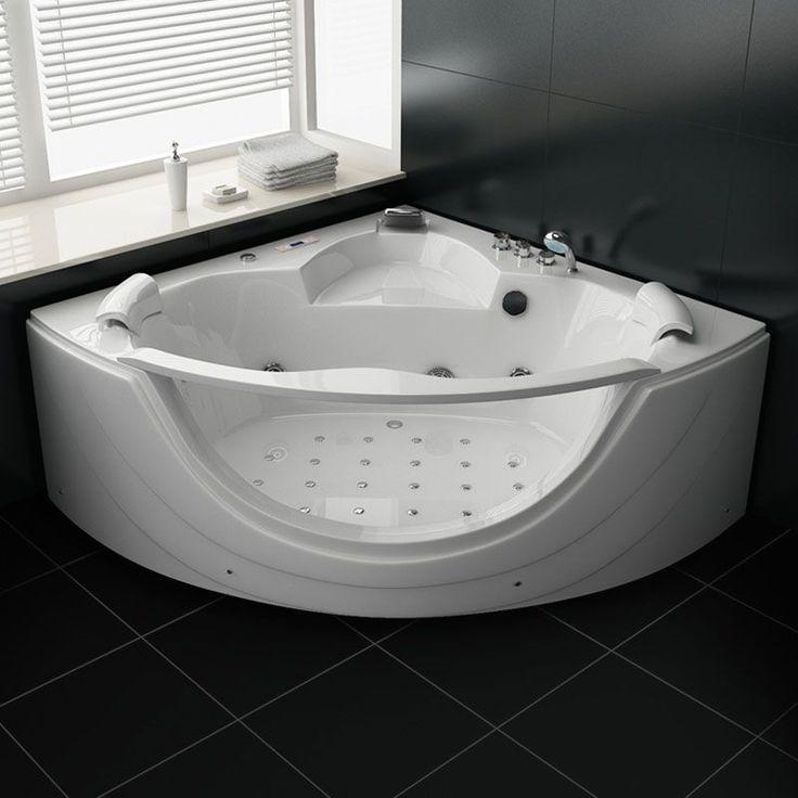 Les 25 meilleures id es de la cat gorie baignoire balneo sur pinterest baig - Baignoire balneo 160 ...