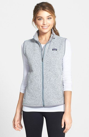 Free shipping and returns on Patagonia 'Better Sweater' Vest at Nordstrom.com. A high-performance vest combines a sweater-knit outer face with a moisture-wicking fleece interior for unbeatable lightweight warmth.