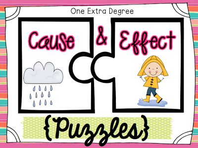 FREE $0 Cause and Effect Puzzles #Teacher at Owl-ways Be Inspired Pinned By www.FernSmithsClassroomIdeas.com