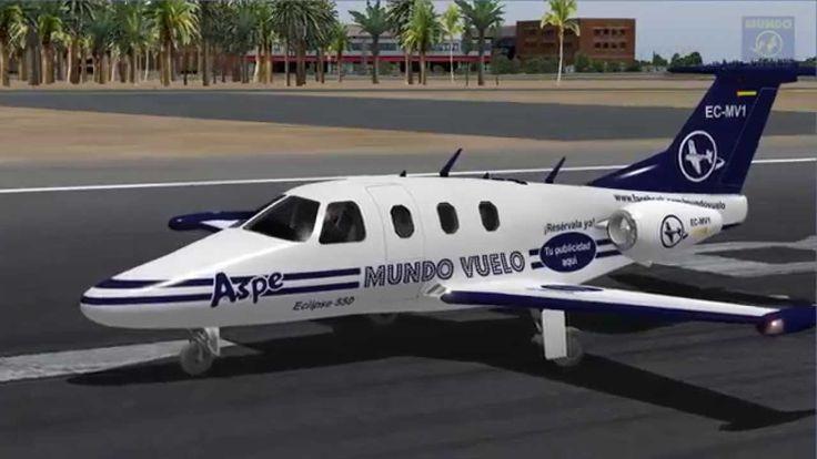 Vuelo completo instrumental VOR-NDB con aterrizaje NDB - Alicante - Barc...