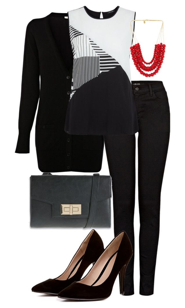 """Office Casual #128"" by amooshadow on Polyvore featuring Oasis, J Brand and 128"