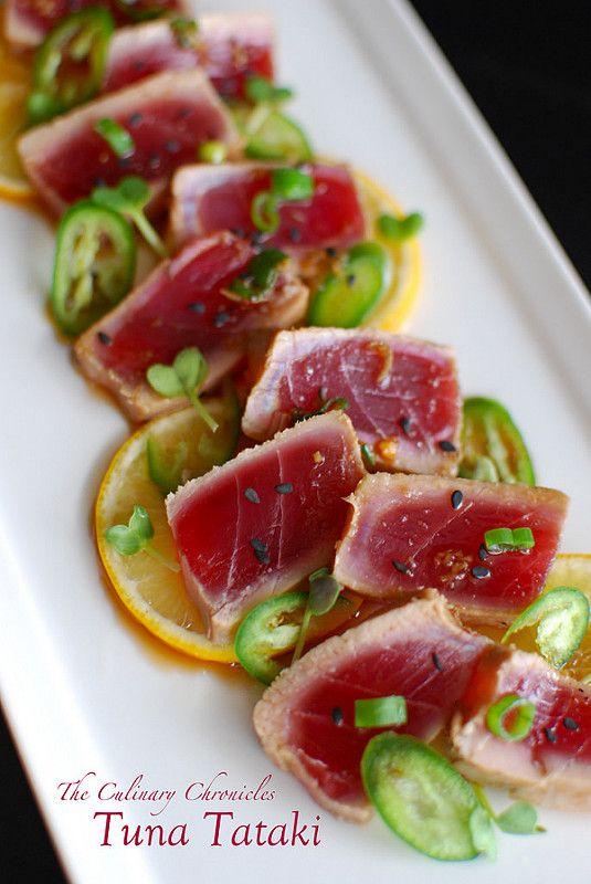 17 best ideas about tuna tartar on pinterest twitter com for Best sashimi fish