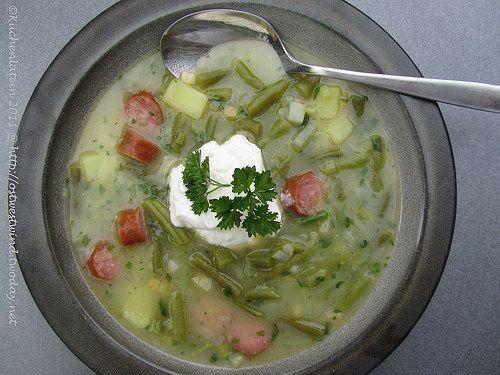 Lea Linsters Bouneschlupp - Bohnensuppe - kuechenlatein.com
