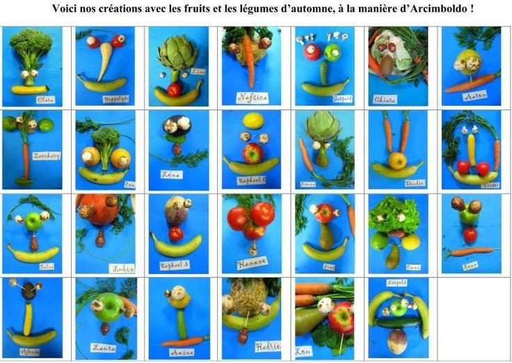 Les 41 meilleures images du tableau le jardin en - Fruits automne maternelle ...
