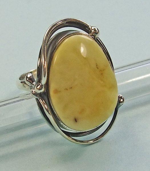 Handmade genuine  Baltic amber sterling silver  by AmberViktoria